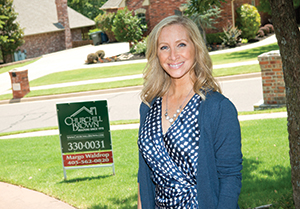 Margo Waldrop of Churchill Brown Real Estate