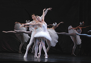 The Russian National Ballet Theatre performing Swan Lake