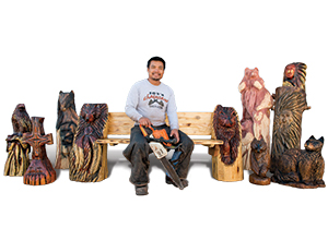Don Dulnuan, Chainsaw Artist
