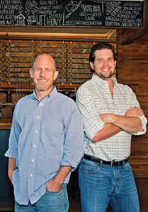 Bryce Thompson and Steve Russell, founders of the Patriarch
