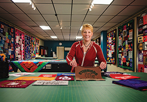 Trish Maxwell, owner of Journey Quilt Company