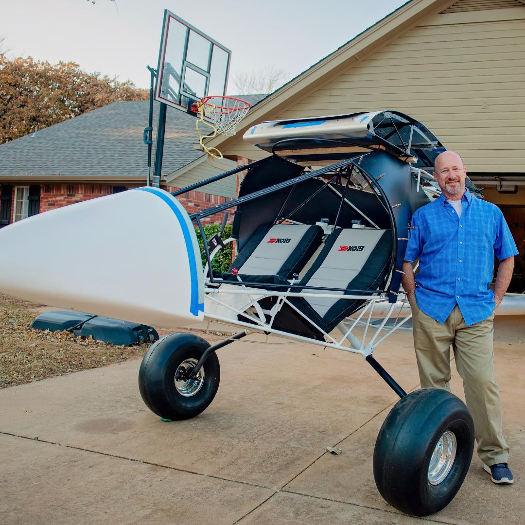 Ken & His Flying Machine