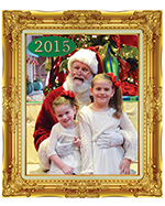 MY OUTLOOK: Santa with the Rotary Club of Northwest OKC