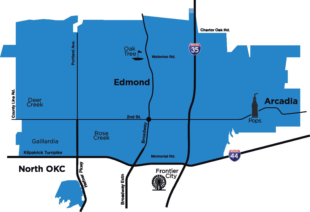 Edmond Map