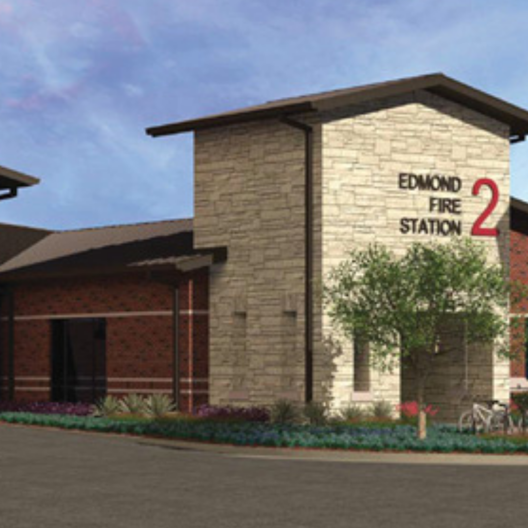 Edmond's New Fire Station
