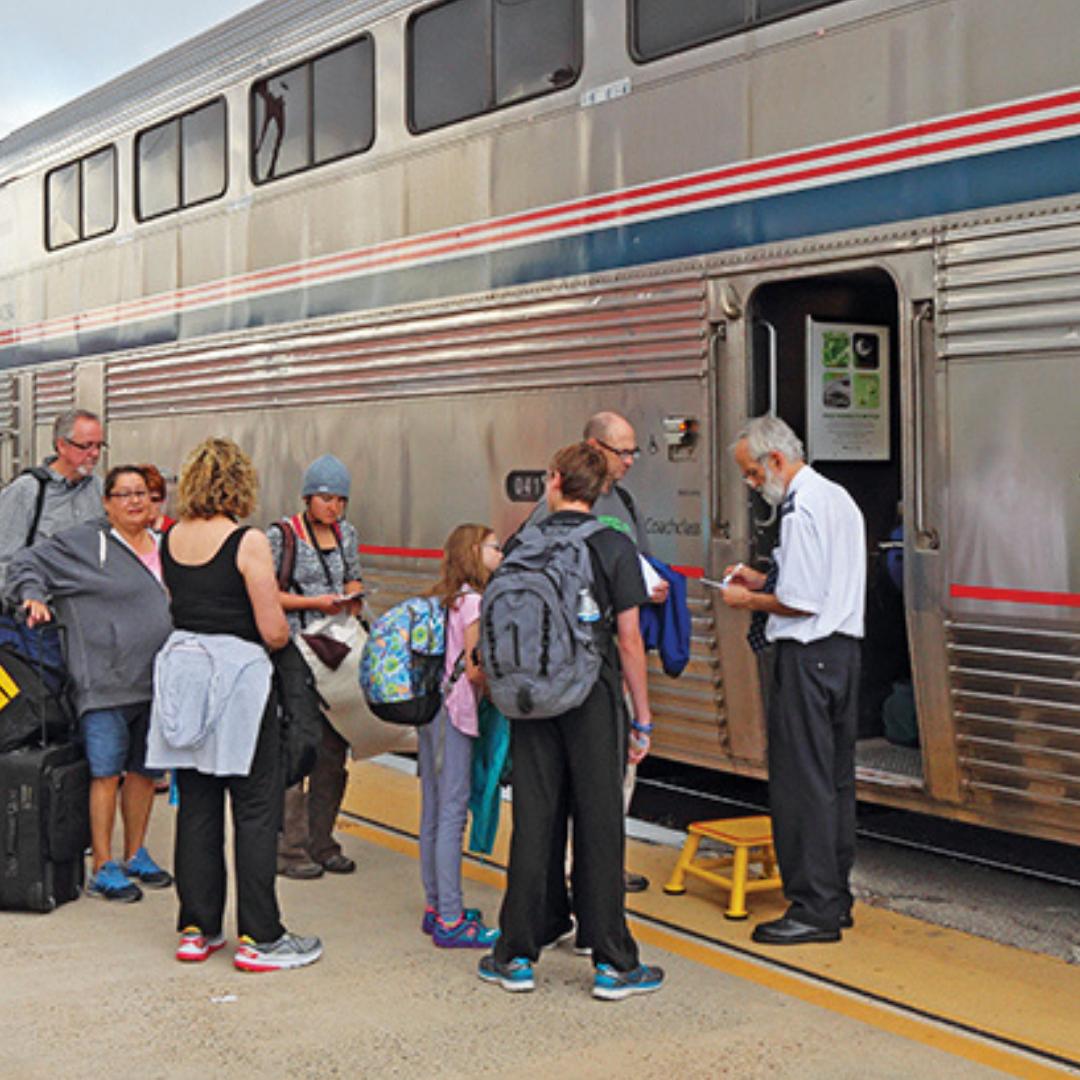 Edmond's Romance with Trains