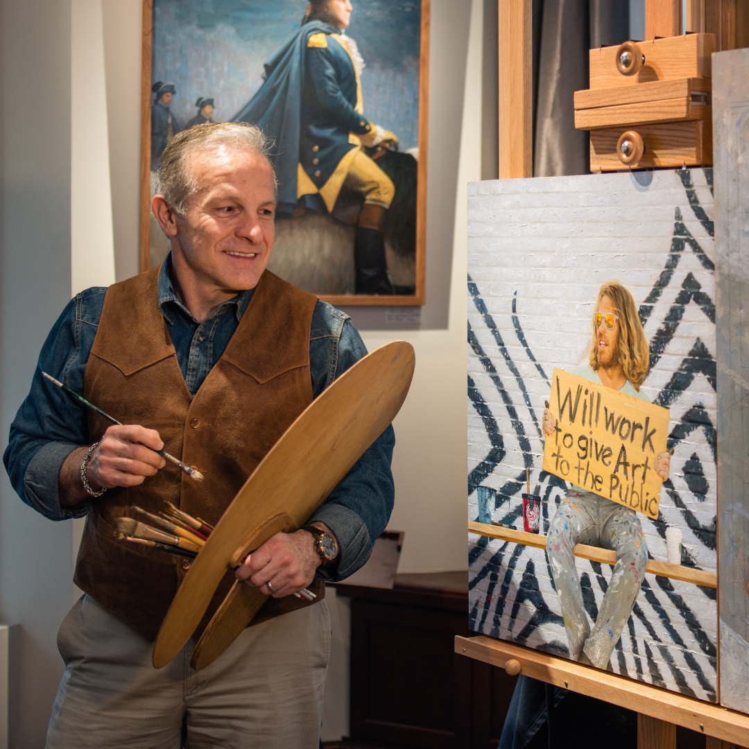 Portrait of a Painter: Mike Wimmer