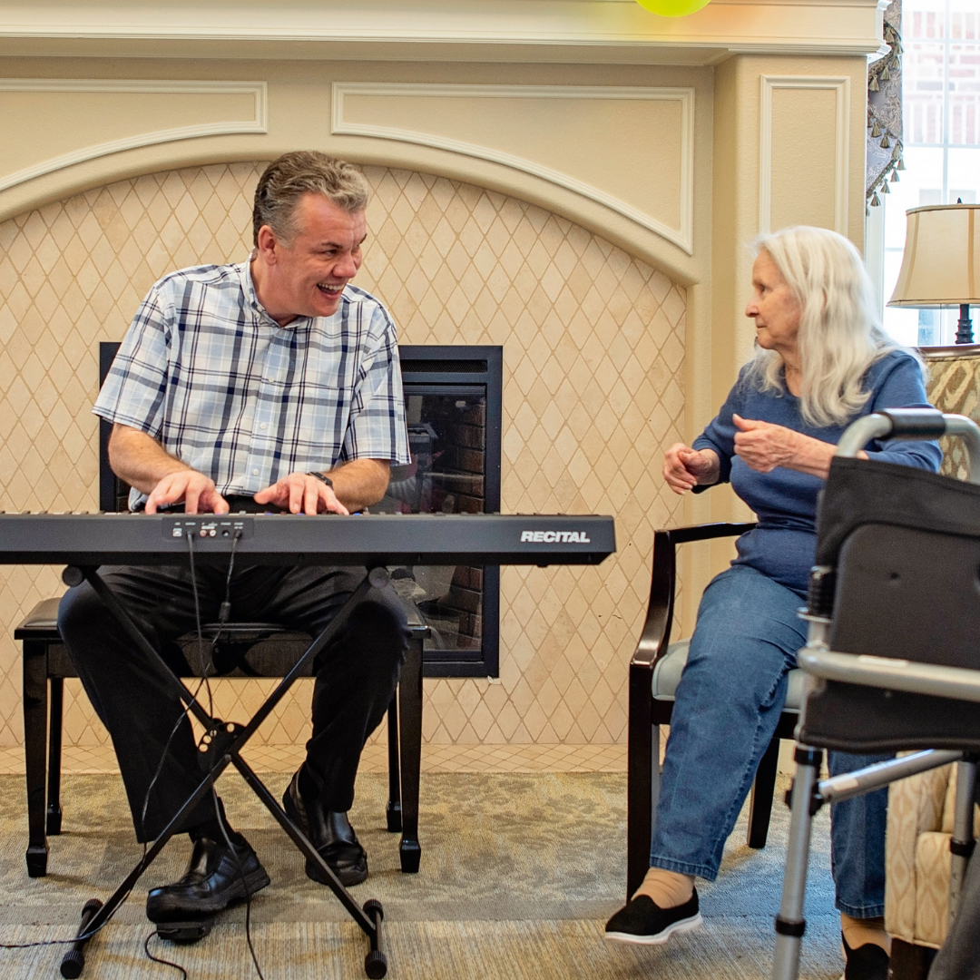 playing for presidents and residents