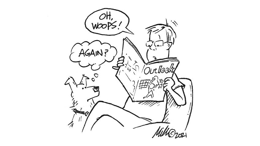 Dave cartoon